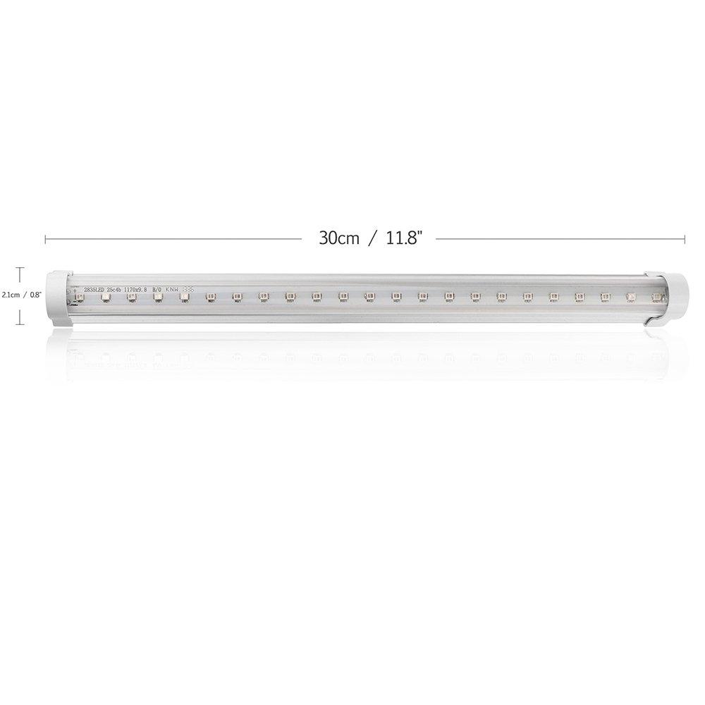 30 centimetri LED germicida ultravioletta della luce della lampada UV Bar SterilAmp Fresh Air 2835SMD per Bagno Cucina Toilette Camera AC 85-265V