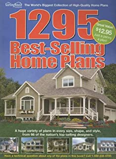 1295 Best Selling Home Plans Country Farmhouse Home Plans