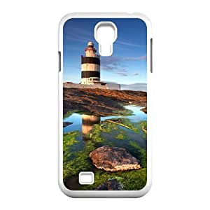 Custom Colorful Case for SamSung Galaxy S4 I9500, Lighthouse Cover Case - HL-R649012