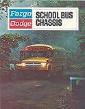 1971 Dodge Fargo School Bus Brochure Canada