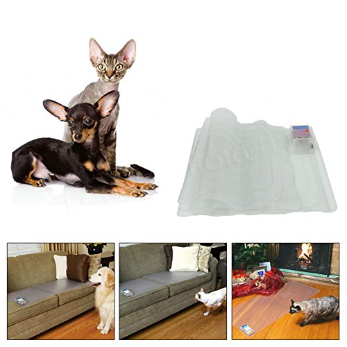 Cheerpet Pet Shock Mat,Pet Training Mat for Cats Dogs,Indoor Use Dogs Cats Training Mat for Sofa,Intelligent Safety Protect by Cheerpet