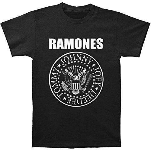 Ramones Men's Presidential Seal T-shirt Black