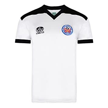 aaad0824e34 Official Retro Fulham 1982 Retro Football Home Shirt 100% POLYESTER:  Amazon.co.uk: Sports & Outdoors