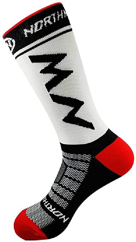 XIAOPENG Calcetines De Ciclismo Profesionales MTB Hombres Mujeres ...