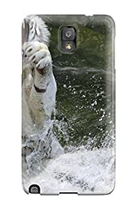 Juliam Beisel's Shop Best High Impact Dirt/shock Proof Case Cover For Galaxy Note 3 (white Tiger)