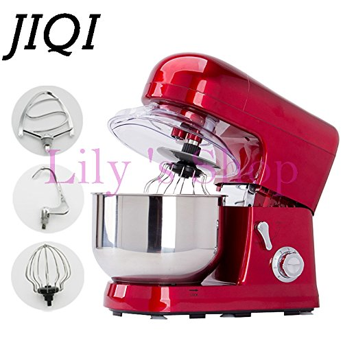 Home use 5 Liters electric food mixer commercial 6 Speed Tilt-Head Stand Mixers eggs beater cake dough mixing machine (110V)