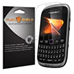BlackBerry Curve 9310 Screen Protector [5 Pack] Flex Shield Ultra Clear Japanese PET Film with Lifetime Warranty Bubble Free HD Clarity with Anti Fingerprint & Scratch Resistance