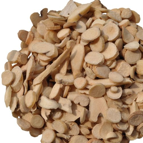 (Organic Superfine Dried White Peony Root Slice Bai Shao (Yao) Tonifying Chinese Herb 250g)