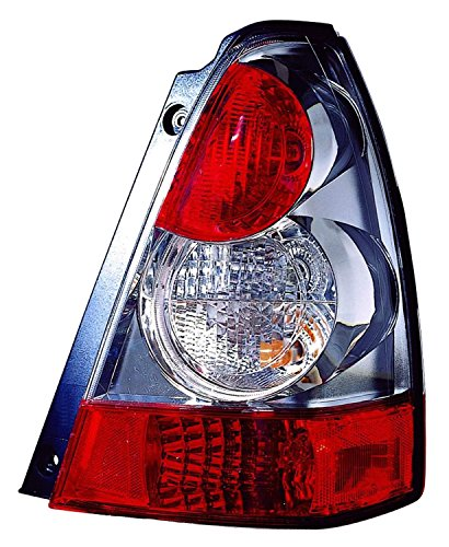For Subaru Forester 06-08 Tail Light Assembly (08 Without Sport Model) Rh Capa (Lamp Tail Forester Subaru)
