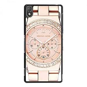 Michael Kors Watch Skin Funda For Sony Xperia Z3 Phone Funda Popular Brand Logo Funda