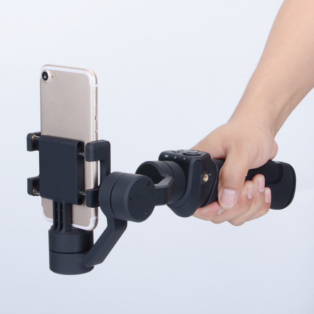 Dovewill Handle Grip Smooth 3-Axis Handheld Gimbal Stabilizer for Android Phone US by Dovewill (Image #4)