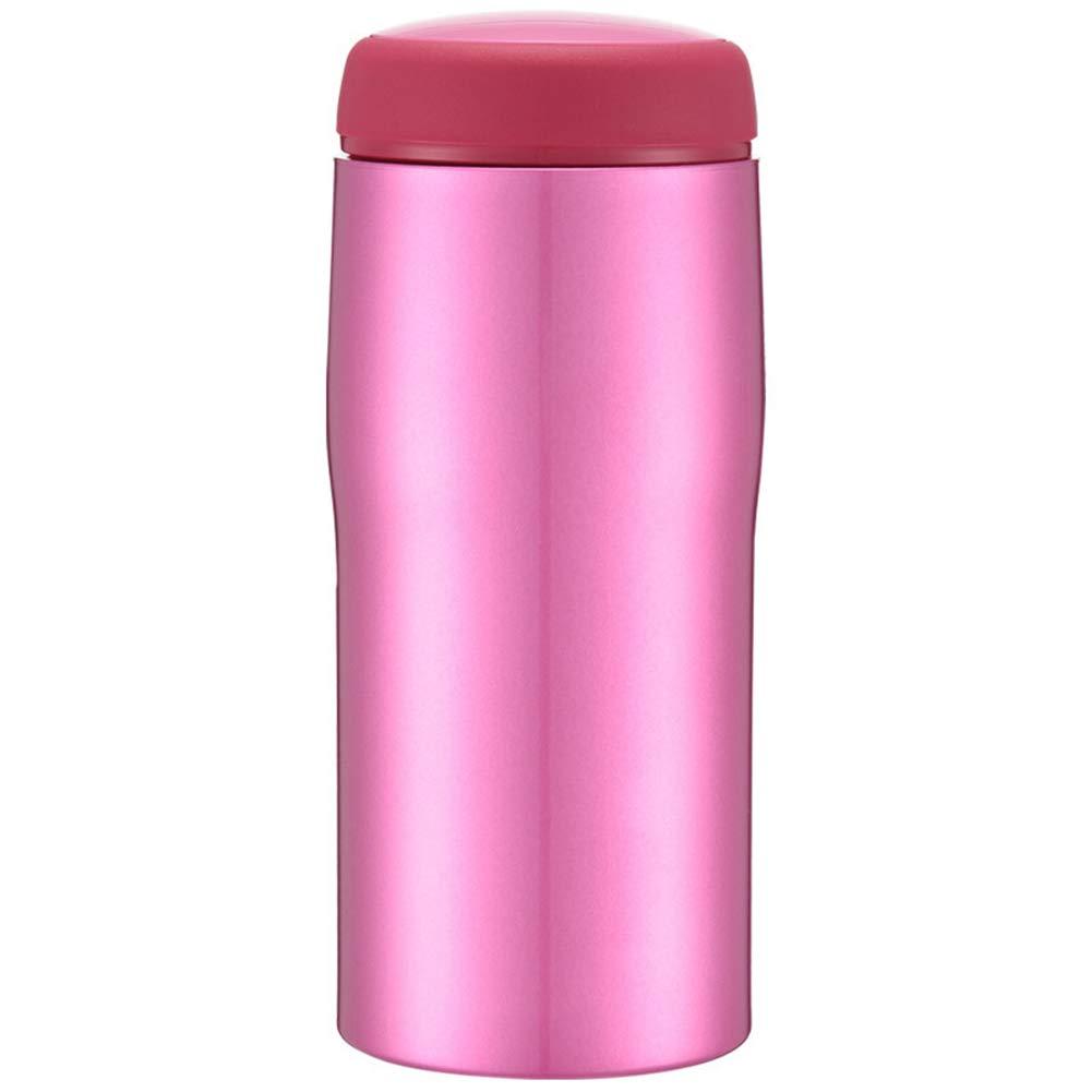Sportflasche Isolier Becher Thermo Becher Travel Mug Kaffeebecher Wasserflasche Trinkbehälter Trinkflaschen-Männer Und Frauen Geschäft-Office-Cup Tragbar Und Praktisch JINRONG