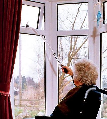 mit langem Handgriff, f/ür Fenster mit Fensterhebel, L/änge/91/cm Fenster/öffner