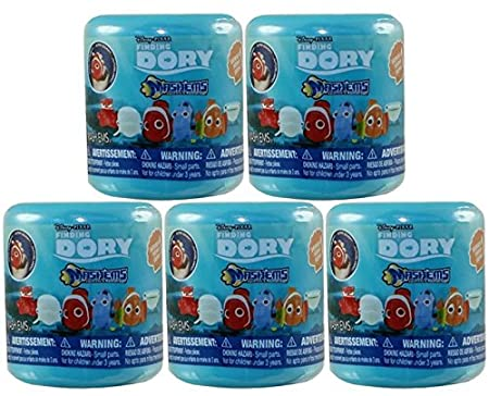 Finding Dory Series 1 - Mashems - 5 PACK LOT