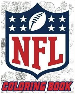 Amazon.com: NFL Coloring Book: American Football Sport NFL Art ...