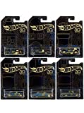 New 1:64 Hot Wheels 50th Anniversary Black & Gold Collection - Bone Shaker, Twin Mill, Rodger Dodger, Dodge Dart, Impala...