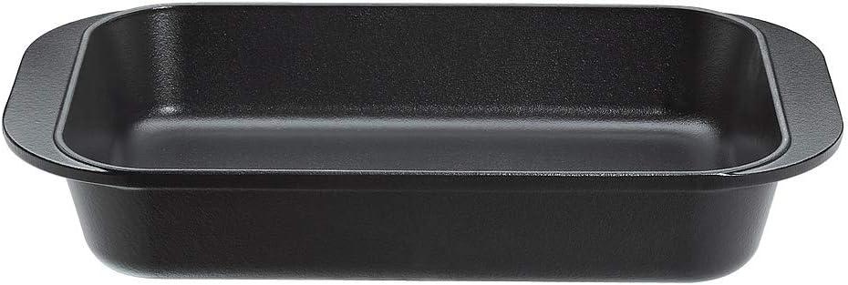 43 x 25 x 7 cm schwarz Edelstahl K/üchenprofi 0404001043 Bratreine Provence