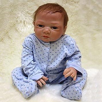 Amazon.es: ZIYIUI 20 Pulgadas 50 cm Reborn muñeca bebé recién Nacido ...