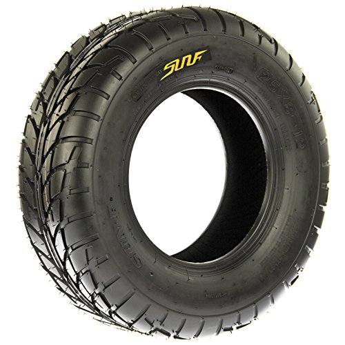 Pair of 2 SunF A021 TT Sport ATV UTV Dirt & Flat Track Tires 22x7-10, 6 PR, Tubeless by SunF (Image #9)