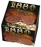 1880 Tortitas Turron de Chocolate / Milk Chocolate Almond Mini Rounds 120grs 6 Pack