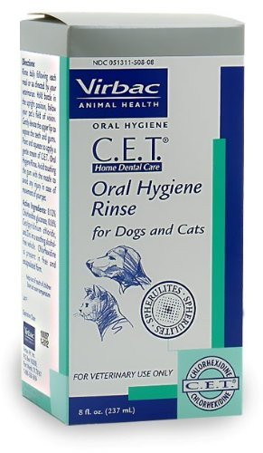 CET MFR BACKORDER 060215 Oral Hygiene Rinse (8 oz) by VIRBAC
