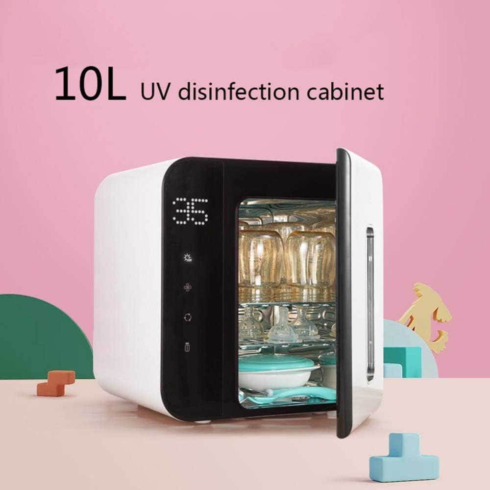 Gabinete de desinfección 10L Gabinete de desinfección Calentadores de Toallas Incrustado Hogar Cocina UV Desinfección Armario Belleza