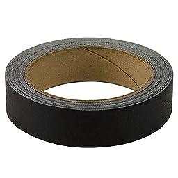 Bookguard Premium Cloth Book Tape-Black-1\'W x 15yds.L