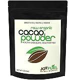 Joyfuel Organic Raw Cacao Powder, Rich Dark Chocolate, 16 Ounce (1 lb) Bag