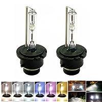 2pc OEM Onyx HID Xenon PAIR D2S D2R for Osram or Philips Headlight Bulbs