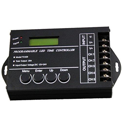 AVOLUTION Programable Time LED Dimmer RGB Controller TC420 (Programable Controller)