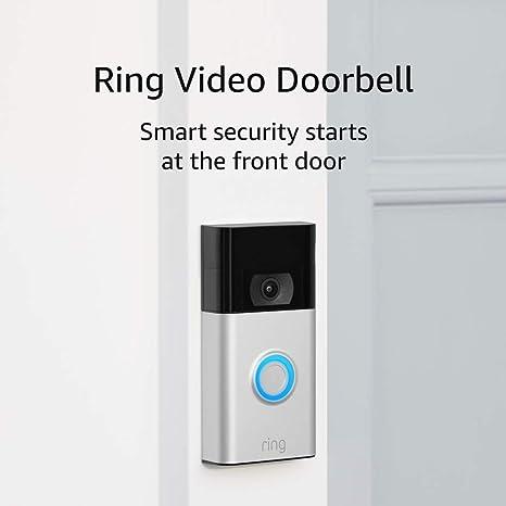 Ring Video Doorbell 1080p HD Video Improved M