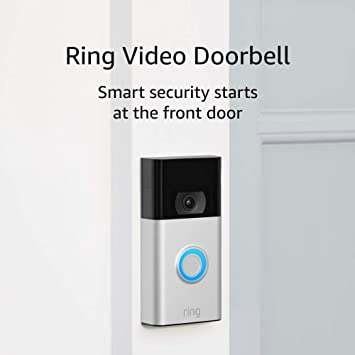 Amazon Com Ring Video Doorbell 1080p Hd Video Improved Motion Detection Easy Installation Satin Nickel 2020 Release Amazon Devices Parties will ring someone's doorbell or knock on their front door repeatedly and run away/hide before the homeowner opens the door. ring video doorbell 1080p hd video improved motion detection easy installation satin nickel 2020 release