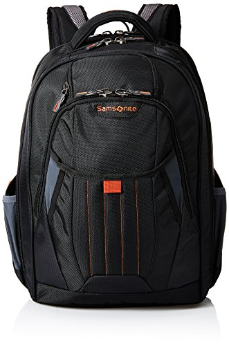 Samsonite Tectonic 2 Large Backpack, Black/Orange