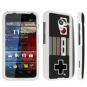 DuroCase ? Motorola Moto X (2013 Released, 1st Gen) Hard Case White - (Game Controller)