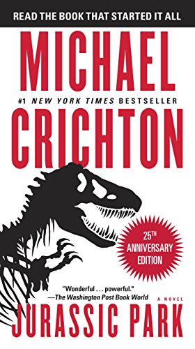 book cover of Jurassic Park