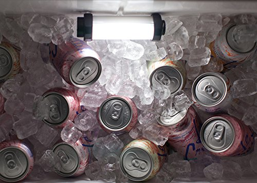 StarBright Cooler Light - A Waterproof, Rechargeable Light For Illuminating The Inside of Your Yeti, ORCA, RTIC, Igloo or Coleman Cooler at Night - Great for Tailgating, Fishing and Hunting