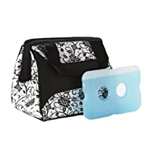 Fit & Fresh Ladies Downtown Insulated Lunch Bag with Ice Pack