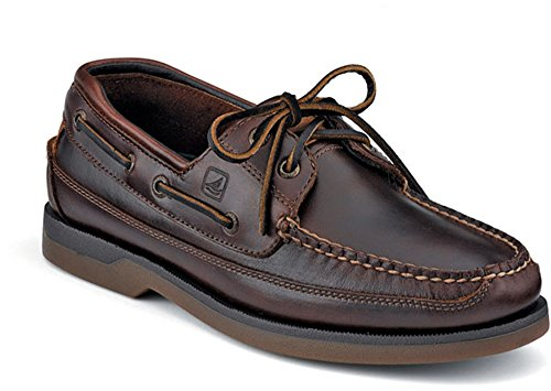 Sperry Men's Mako 2 Eye Boat Shoe, Amaretto, 13 W US