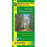 Naturpark Pfälzerwald /Vom Johanniskreuz bis Pirmasens: Naturparkkarte 1:25 000 mit Wander- und Radwanderwegen (Freizeitkarten Rheinland-Pfalz 1:15000 /1:25000)