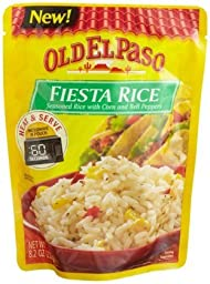 Old El Paso Heat and Serve Fiesta Rice, 8.2-Ounce (Pack of 8)