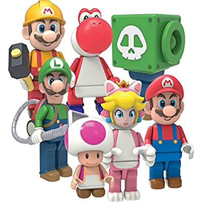 K'Nex Super Mario Mystery Bag - Series 10 (1 Mystery Figure Per Bag): Toys & Games