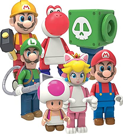 """K/'NEX SUPER MARIO FIGURE SERIES /""""TOAD/"""" COMPLETE YOUR COLLECTION!"""