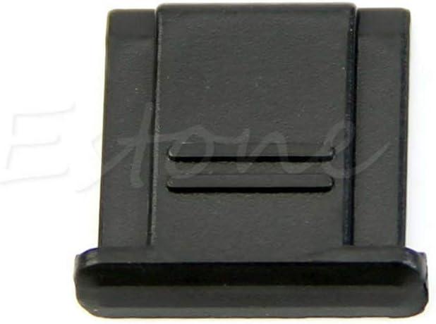 ruiruiNIE BS-1 Cubierta de Zapata para Canon Nikon Olympus Pentax Panasonic Cubierta de Zapata Negra