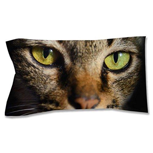 Thai Cat Close Up Pillow Sham, King by Pixsona