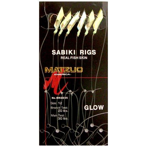 Matzuo Sabiki Rigs Color/Size: Glow/12, Outdoor Stuffs