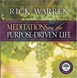 (Meditations on the Purpose Driven(r) Life) By Warren, Rick (Author) Hardcover on (09 , 2003)