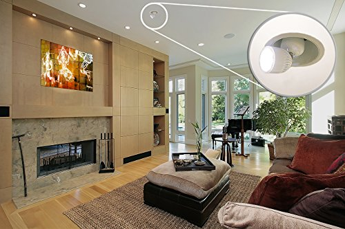 ML-Direct LED picture Light accent light bulb with remote control, art lighting lamp ()
