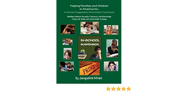 In School Suspension Enrichment Curriculum: Enriching Lives of ...