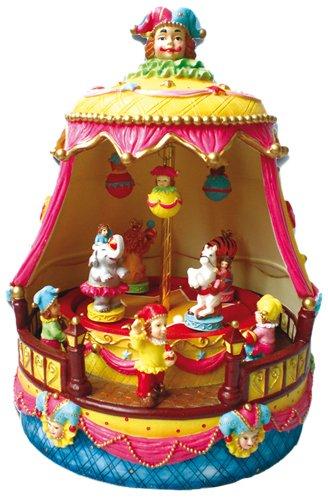 Spieluhrenwelt 14134 - Circo con gli animali Music Box World