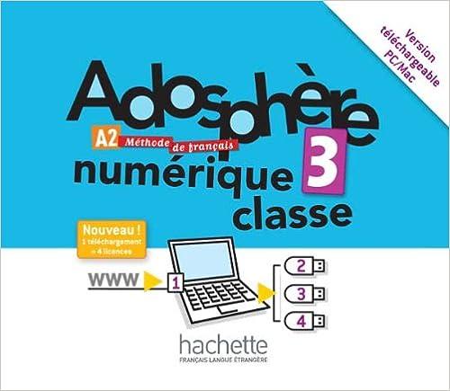 Amazon Com Adosphere 3 Manuel Numerique Enrichi Pour L